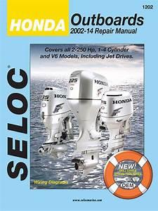 Yamaha  Suzuki  And Honda Outboard Repair Manuals By Seloc