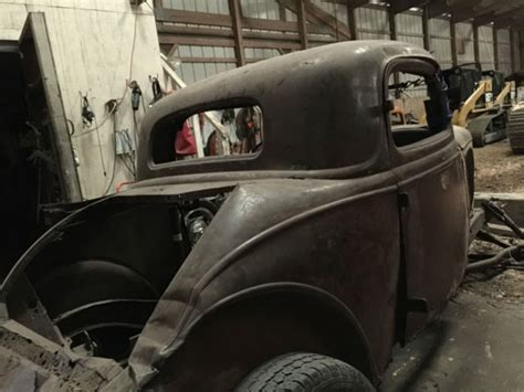 ford  window coupe roller original henry steel