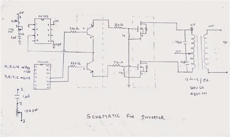 Modified Sine Wave Low Cost Inverter Common Electrical
