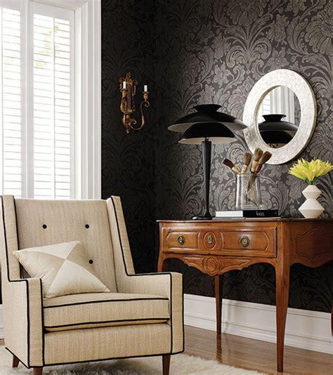 Budget Interior Decorations Wallpaper Vs Paint