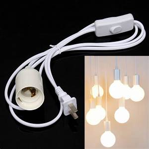 Light Bulb Adapter With Switch Buy E26 Light Bulb Socket To Ac Wall Outlet Plug Adapter