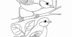 Simple Bird Coloring Pages | Best Coloring Page Site ...