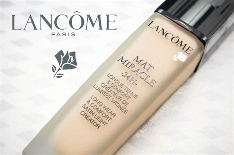 lancome mat miracle 24h foundation review cover