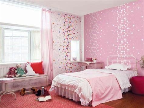 papier peint fille chambre papier peint enfant quels motifs et couleurs choisir