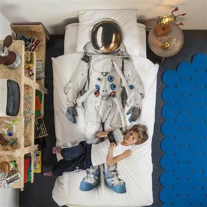 Buy Snurk Astronaut Duvet Set - Single   Amara