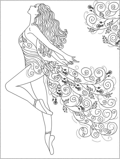ballet coloring pages    print