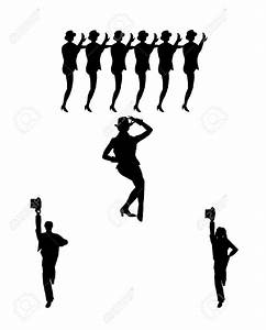 Dancer clipart high kick - Pencil and in color dancer ...