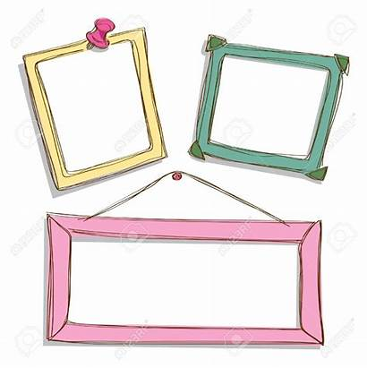 Frame Clipart Doodle Frames Vector Background Illustration