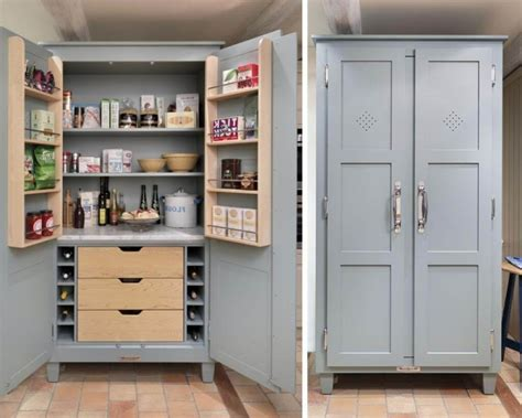 pin  steen   kitchen  images pantry cabinet