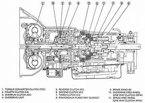 Isuzu Rodeo Transmission Diagram