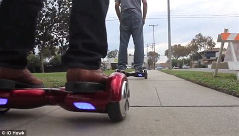 segway ohne lenker io hawk battery powered board glides along like a segway daily mail