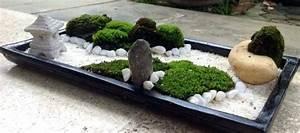 Jardin Japonais Interieur : decoration jardin japonais miniature ~ Dallasstarsshop.com Idées de Décoration