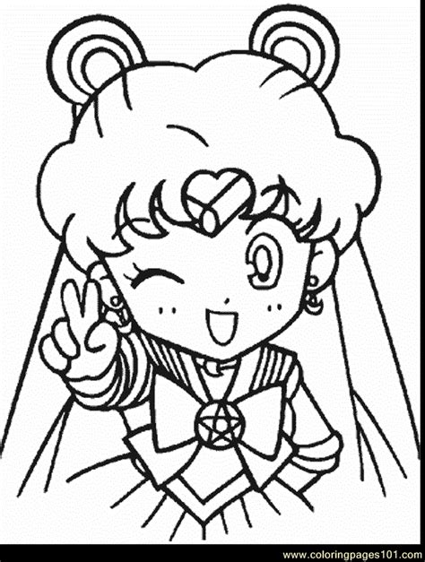 Coloring Pictures by Sailor Moon Coloring Page Free Sailor Moon Coloring