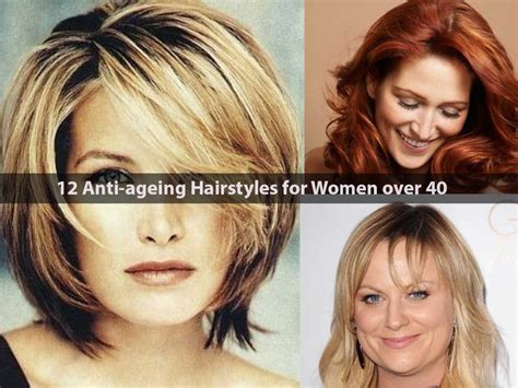12 Anti-ageing Hairstyles For Women Over 40
