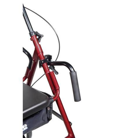 duet dual function transport wheelchair walker rollator