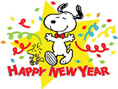 Image result for snoopy happy new year