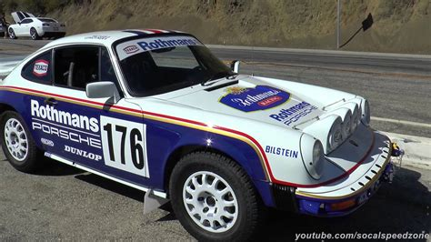 rothmans porsche rally porsche 953 rothmans rally tribute youtube