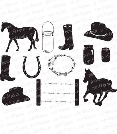 There you will find themed posts with all of the latest links in the comments. Country SVG Cowboy SVG Horse SVG Western Rustic Cut