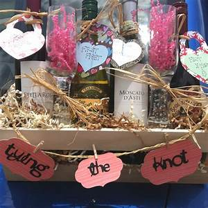 95 best diy wedding wine basket ideas images on pinterest With wedding gift ideas unique