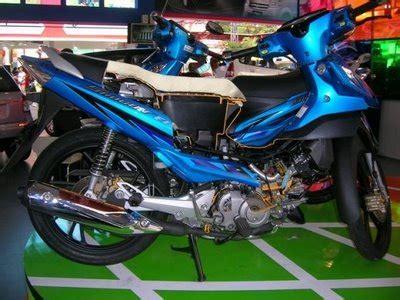 Modivikasi Airbrush Shogun Sp by Modifikasi Motor Modifikasi Motor Suzuki Shogun With