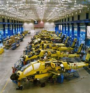 Apache Helicopter Manufacturing