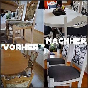Stühle Selbst Beziehen : die besten 25 alte st hle streichen ideen auf pinterest ~ Lizthompson.info Haus und Dekorationen