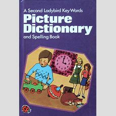 Second Picture Dictionary And Spelling Book Ladybird Key Words