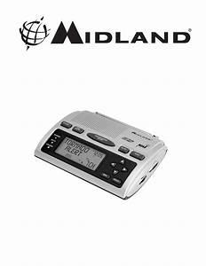 Midland Radio All Hazards Weather Alert Radio Wr300 User U0026 39 S