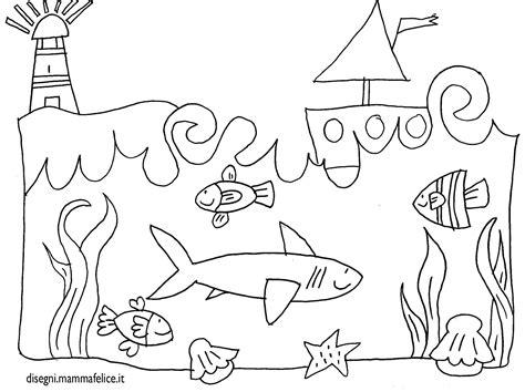 disegni da colorare mare per bambini disegno per bambini da colorare gratis mare paesaggio
