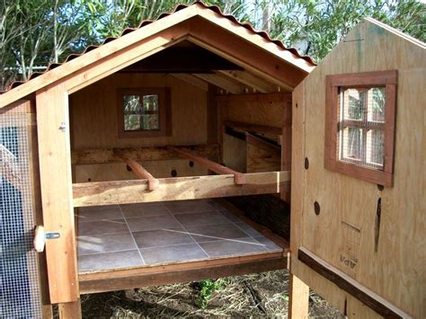Chicken Roosts Design  Woodworking Projects & Plans