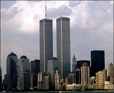 New York City Twin Towers Destroyed