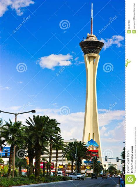 stratosphere tower las vegas editorial image image