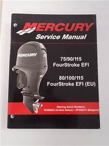 Find Used Mercury Outboards 75  90  115 Fourstroke Efi