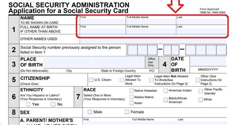 social security name change update social security after name change during naturalization