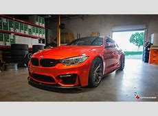 BMW M4 F82 in Sakhir Orange vom Tuner Supreme Power Der