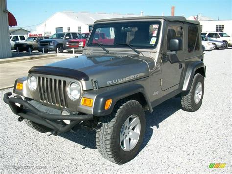 jeep metallic 2006 light khaki metallic jeep wrangler rubicon 4x4