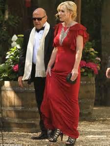 dean norris and wife aaron paul and longtime girlfriend lauren parsekian tie