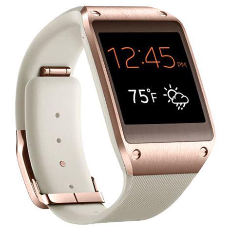 samsung galaxy gear smartwatch gold sm v700 rosegold b h