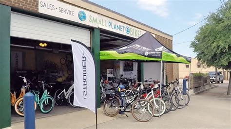 Small Planet Ebikes, Electric Bike Shop In Dallas Texas