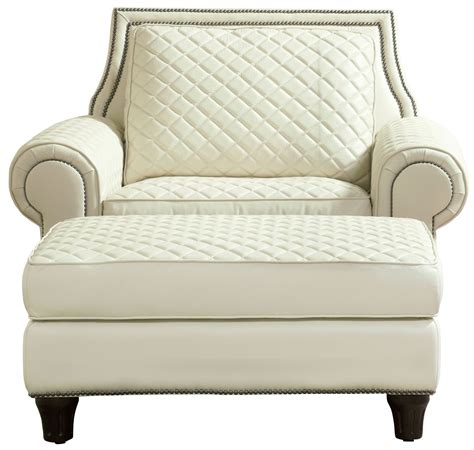 wellesley ivory quilted leather chair 704503 5001aa