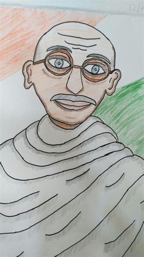 gandhiji art starts  kids