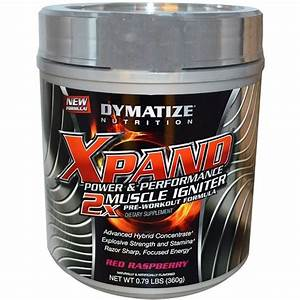 Dymatize Nutrition  Xpand 2x  Muscle Igniter  Pre