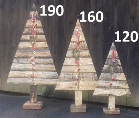 Tannenbaum Holz Groß by Holz Weihnachtsbaum 190 160 130 Cm Gro 223 Er Holzbaum