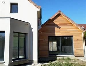 Bardage Façade Maison : bardages habillage ext rieur des fa ades des murs en bois ~ Nature-et-papiers.com Idées de Décoration