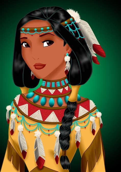 Pocahontas - Disney Princess Fan Art (34313772) - Fanpop