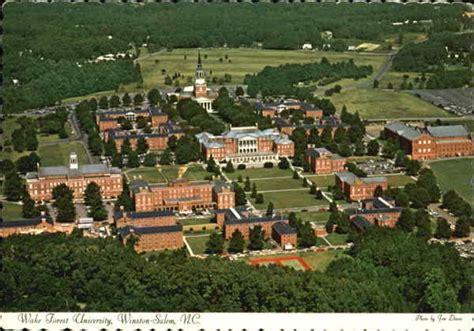 wake forest university winston salem nc