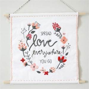 Create this beginner-level embroidery for Valentines Day ...