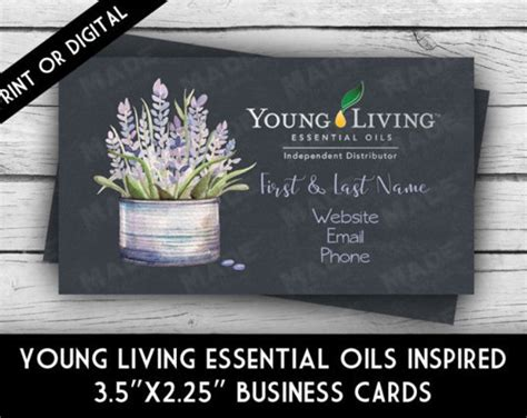 Young Living Essential Oils Lavender Business Card Avery Business Cards For Inkjet Printers Best Printer Printing And Flyers Moo Australia Rose Gold Foil Canada Reader App Iphone Dimensions Uk Personalised Stickers