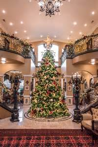 Fully Decorated Christmas Trees christmas at the viaggio estate amp winery rich baum