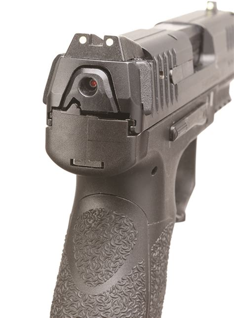 hk vp striker fired pistol recoil